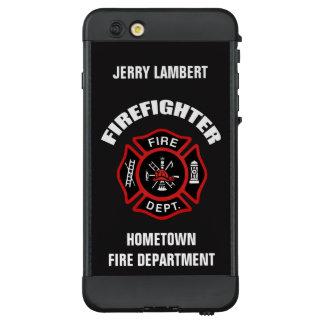 Feuerwehrmann-Namensschablone LifeProof NÜÜD iPhone 6 Plus Hülle