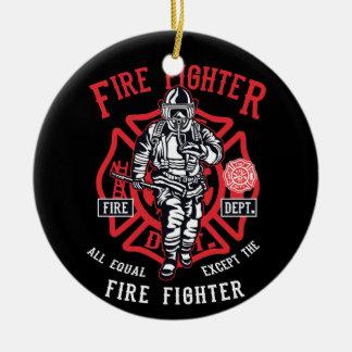 Feuerwehrmann | nicht alle Männer sind gleich Keramik Ornament