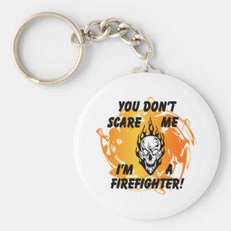 Feuerwehrmann-Schrecken Schlüsselanhänger