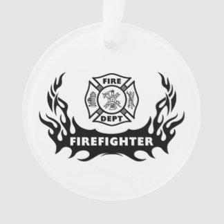 Feuerwehrmann-Tätowierungen Ornament