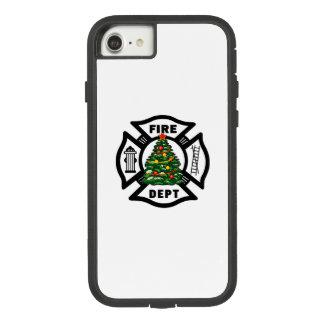 Feuerwehrmann-Weihnachten Case-Mate Tough Extreme iPhone 7 Hülle 1