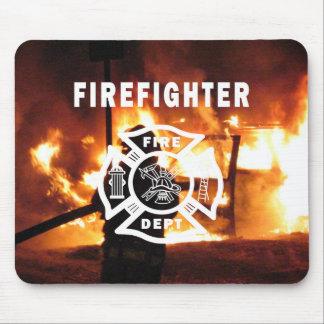 FeuerwehrmannHandline Mousepad