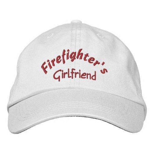 Feuerwehrmanns, Freundin-Gestickten Hutes Bestickte Kappen