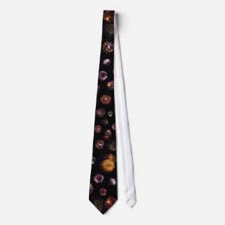 Feuerwerk-Krawatte Individuelle Krawatte