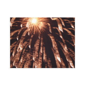 Feuerwerk-Leinwand-Druck Leinwanddruck