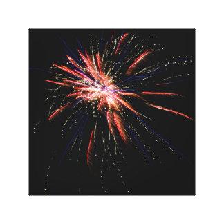 Feuerwerke #2 leinwanddruck