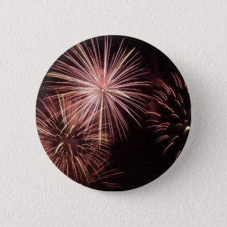Feuerwerke 8 runder button 5,1 cm
