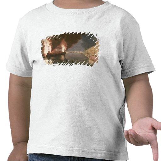 Feuerwerke auf der Seine Tshirt