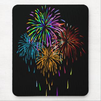 Feuerwerke Mousepad