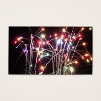 Feuerwerke Visitenkarte