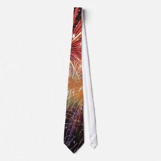 Feuerwerks-Finale Krawatte