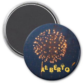 Feuerwerks-Magnet Runder Magnet 7,6 Cm