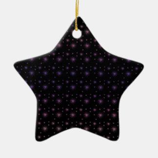 Feuerwerks-Muster Keramik Ornament