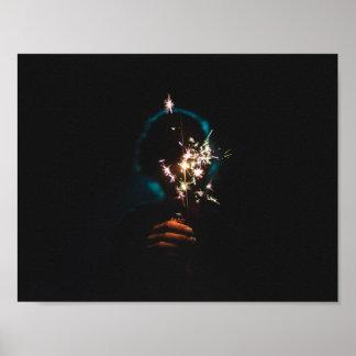 Feuerwerksplakat Poster