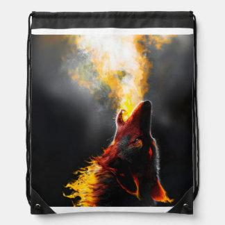Feuerwolf Sportbeutel