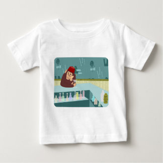 Fez-Affe-Martini-Bar Baby T-shirt