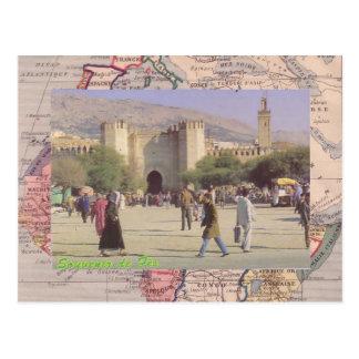 Fez, die zweitgrösste Stadt von Marokko Postkarten