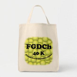FGDCh 40K Flyball VorlagenBio Lebensmittelgeschäft Tragetasche
