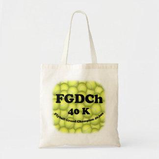 FGDCh 40K, Flyball Vorlagenbudget-Tasche Tragetasche