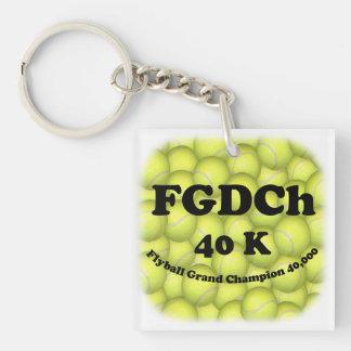 FGDCh 40K Flyball Vorlagenchampion Schlüsselanhänger