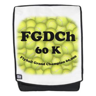 FGDCh 60K, Flyball großartiger Champion, 60.000 Rucksack