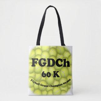 FGDCh 60K, Flyball großartiger Champion, 60.000 Tasche