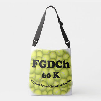 FGDCh 60K, Flyball großartiger Champion, 60.000 Tragetaschen Mit Langen Trägern