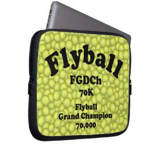 FGDCh 70 K, Flyball großartiger Champion, 70.000 Laptopschutzhülle