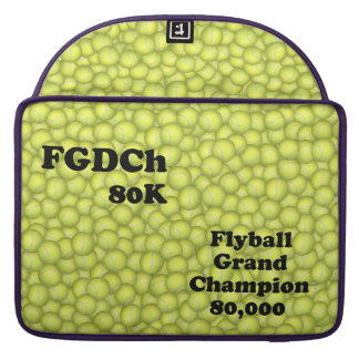 FGDCh 80 K, Flyball großartiger Champion, 80.000 MacBook Pro Sleeve