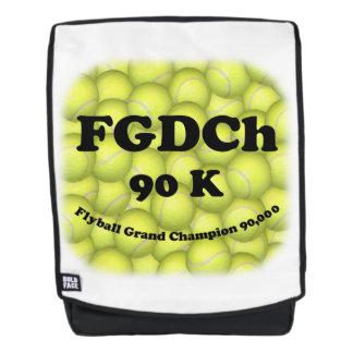 FGDCh 90 K, Flyball großartiger Champion, 90.000 Rucksack