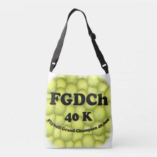 FGDCh, Flyball großartiger Champion, 30.000 Punkte Tragetaschen Mit Langen Trägern
