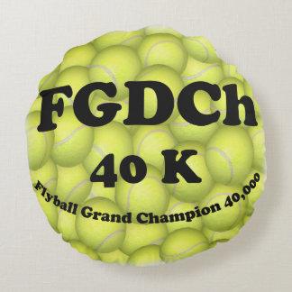 FGDCh, Flyball großartiger Champion, 40.000 Punkte Rundes Kissen