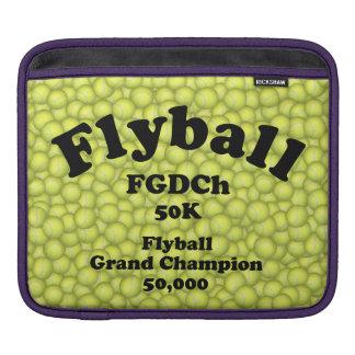 FGDCh, Flyball großartiger Champion, 50.000 Punkte iPad Sleeve