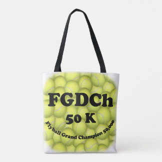 FGDCh, Flyball großartiger Champion, 50.000 Punkte Tasche