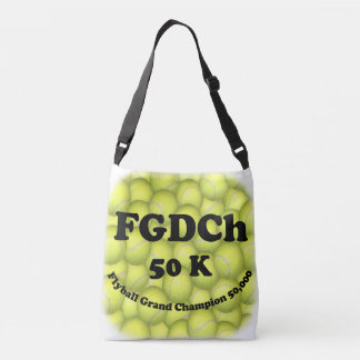 FGDCh, Flyball großartiger Champion, 50.000 Punkte Tragetaschen Mit Langen Trägern