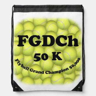 FGDCh, Flyball großartiger Champion, 50.000 Punkte Turnbeutel