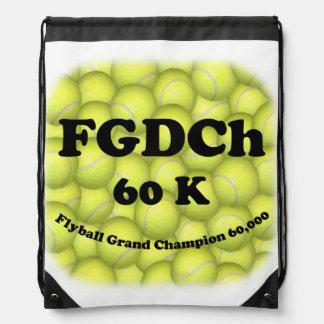 FGDCh, Flyball großartiger Champion, 60.000 Punkte Turnbeutel