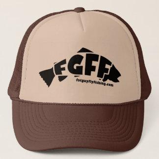 FGFF Hut-Schwarzes Truckerkappe
