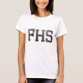 FHS Highschool - Vintag, beunruhigt T-Shirt