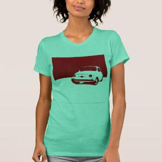 Fiat 500, 1959 - Rot auf hellen Shirts