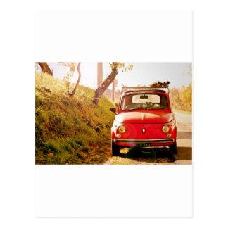 Fiat 500, Cinquecento in Italien Postkarte