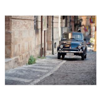 Fiat 500, Cinquecento in Lanciano, Italien Postkarte