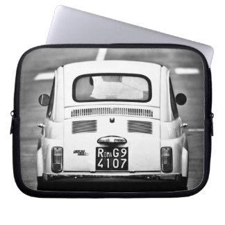 Fiat 500, cinquecento, in Rom, Laptophülse Laptop Computer Schutzhüllen