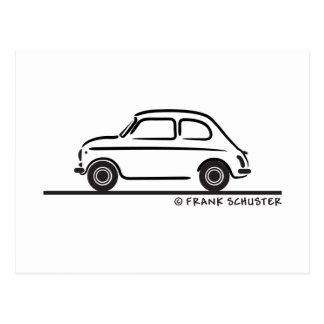 Fiat 500 Cinquecento Postkarte