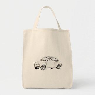 Fiat 500 Topolino Einkaufstasche