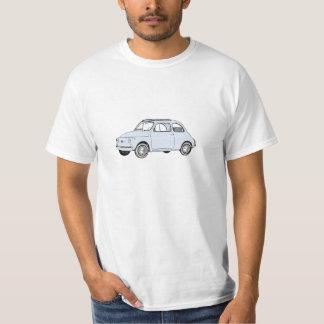 Fiat 500 Topolino Illustration Männer T-Shirt