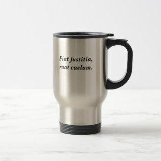Fiat justitia, ruat caelum reisebecher