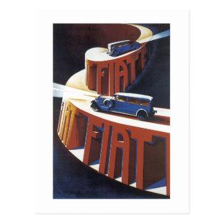 Fiat Postkarte