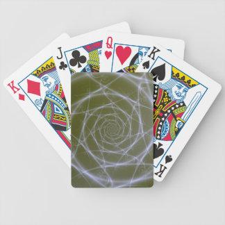 Fiberoptische Suppen-Spielkarten Bicycle Spielkarten