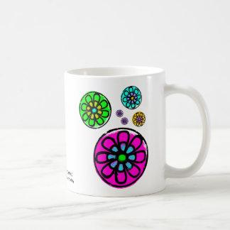 Fibonacci-Blumen-Power Kaffeetasse